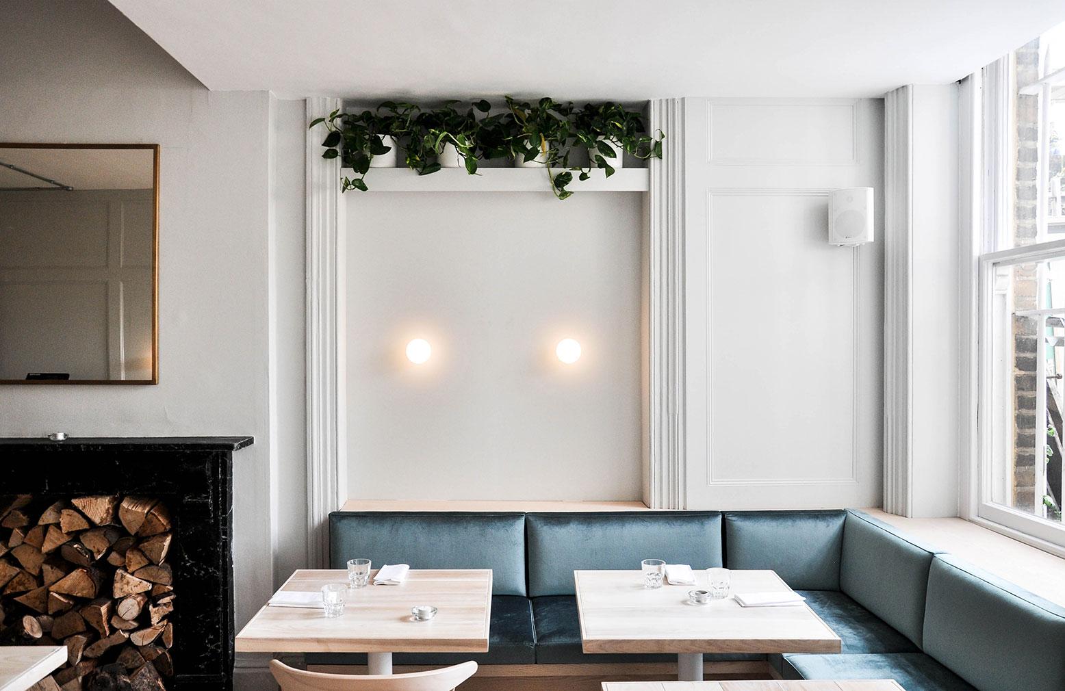 Coal Rooms restaurant in Peckham Rye