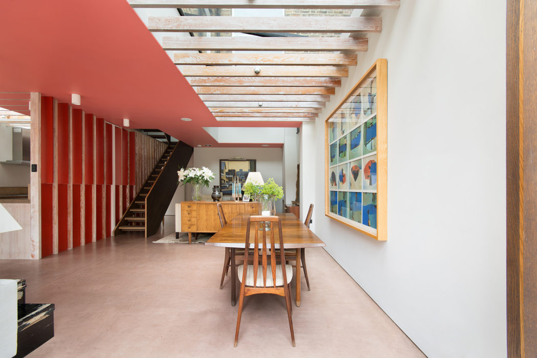 home designed. London home designed by Jonathan Tuckey is for rent  2 600 per week