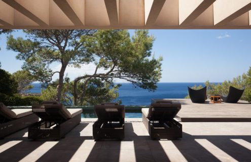 Holiday home of the week: an Ibizan villa overlooking the sea