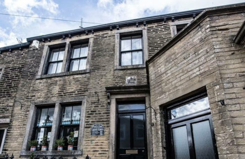 Emily Brontë's birthplace is now a café – and it's for sale