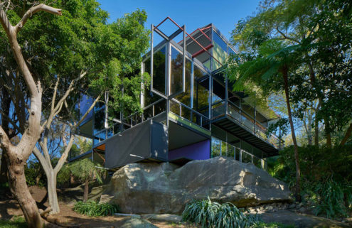 Property of the week: architect Jean Fombertaux's own Modernist home in Sydney