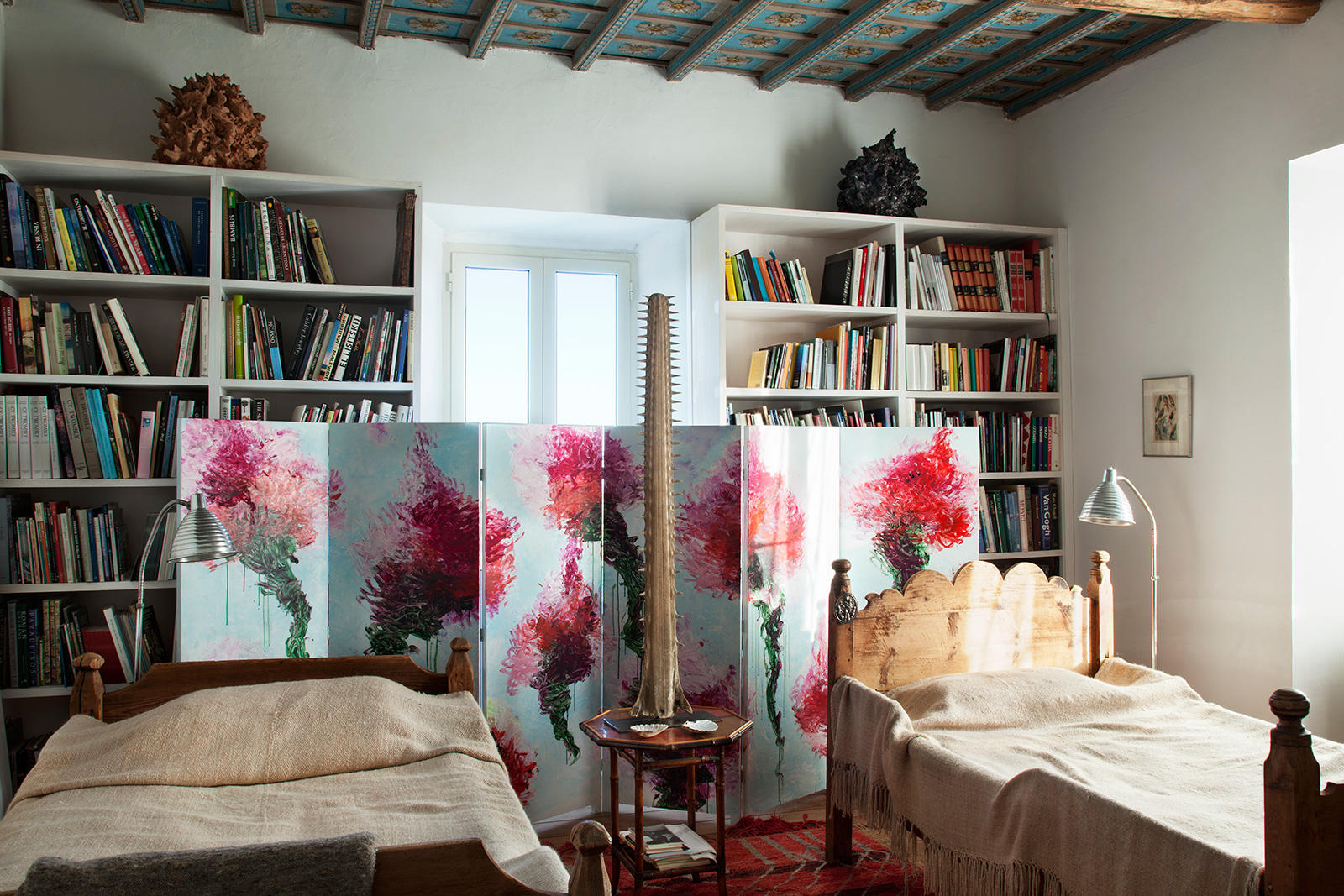 Alessandro Twombly's Lazio home. Photography: Miguel Flores-Vianna