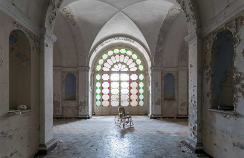 Forgotten spaces: abandoned medical centres captured by Ilan Benattar