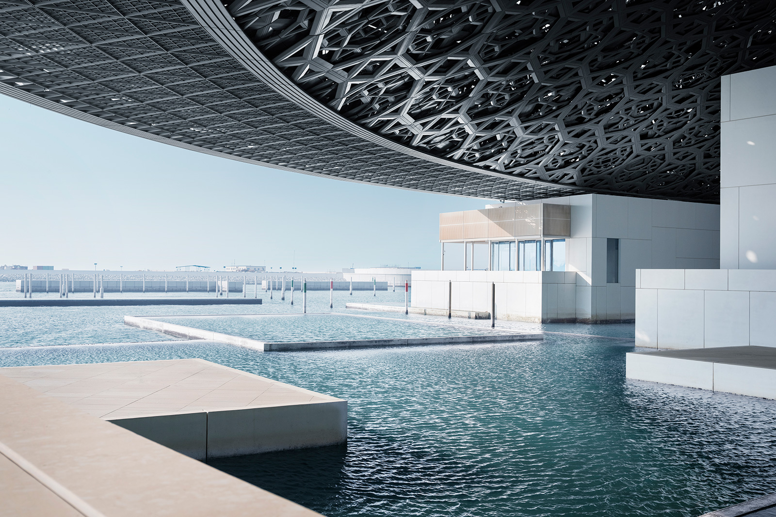 Louvre Abu Dhabi roof dome