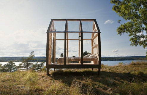 Can these glass cabins in Sweden help cure stress?
