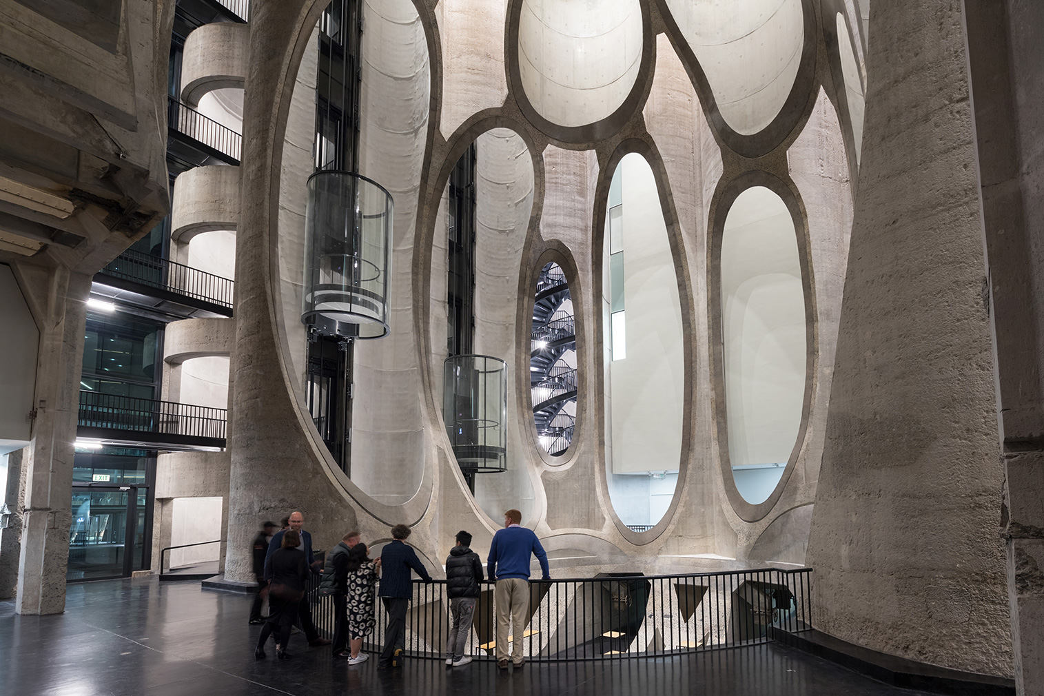Zeitz MOCAA, designed by Heatherwick Studio in Cape Town