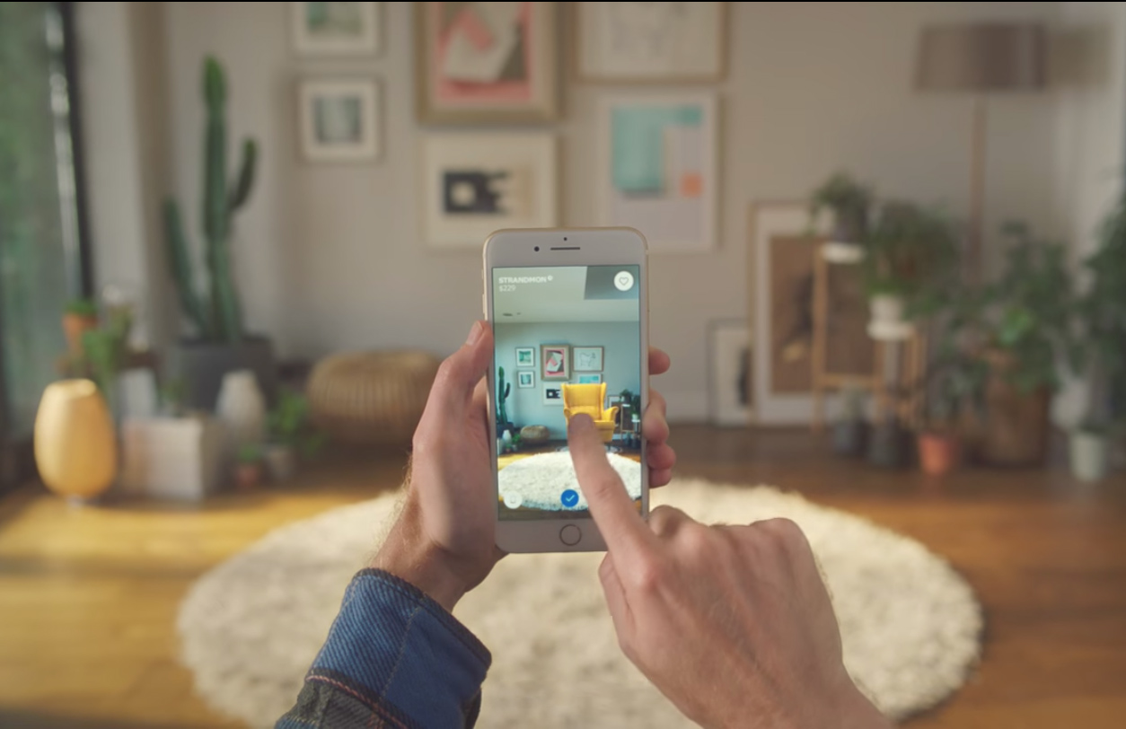 ikea s new augmented reality app lets you try out furniture in your home. Black Bedroom Furniture Sets. Home Design Ideas