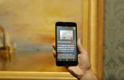 Will the new 'Shazam for art' app change the gallery experience forever?