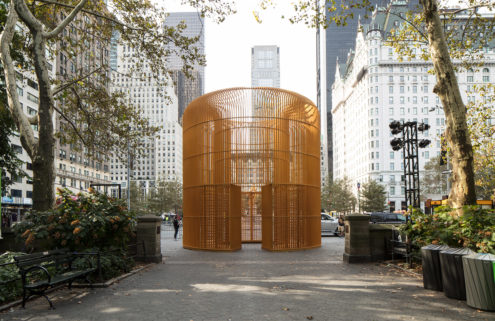 Ai Weiwei builds 'fences' across New York's five boroughs