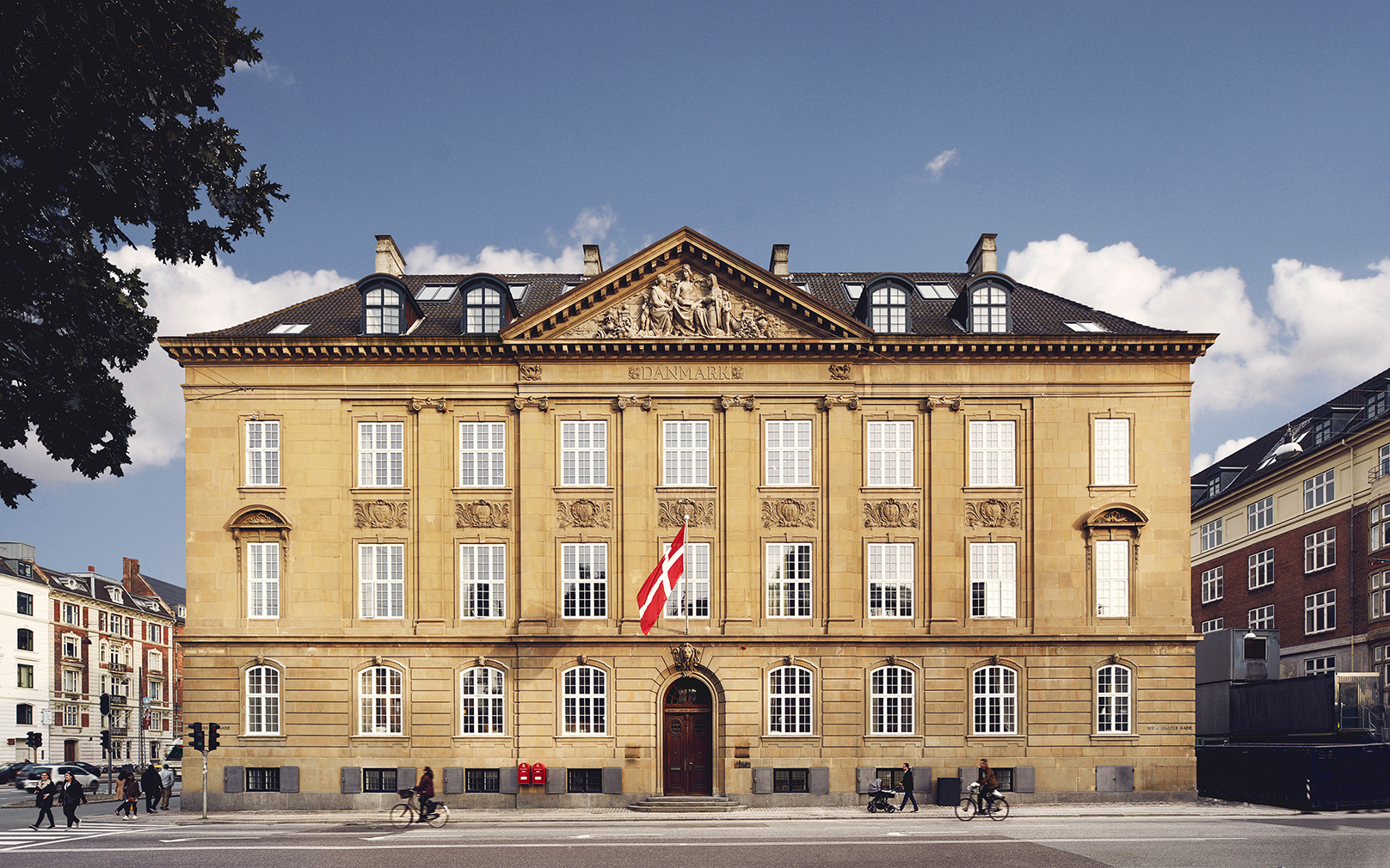 Denmark s former conservatory of music is now a hotel for Top design hotels in copenhagen