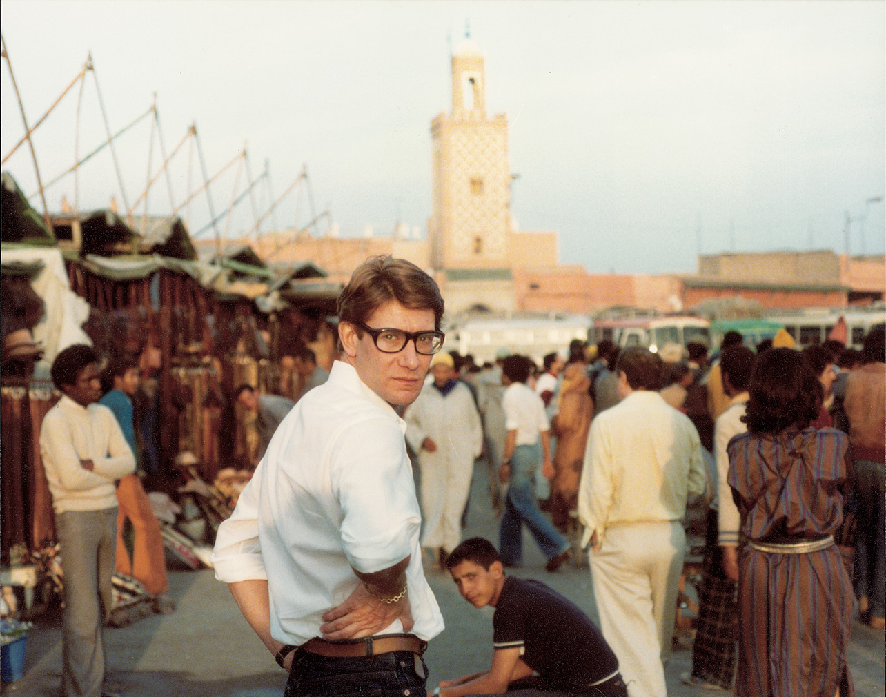 Yves Saint Laurent, Jemaa el-Fnaa square (c) Reginald Gray