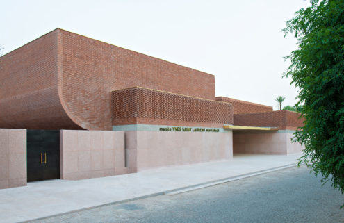 Musée Yves Saint Laurent Marrakech is wrapped in 'woven' terracotta