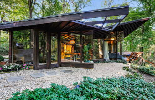 Property of the week: a woodland home in Usonia, New York