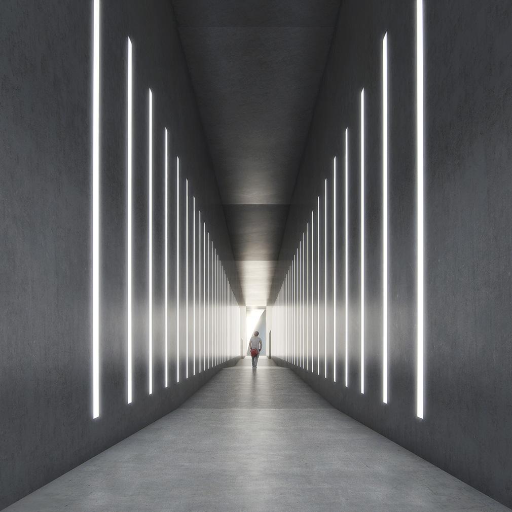 ARoS Aarhus Art Museum's extension designed by James Turrell and Schmidt Hammer Lassen Architects