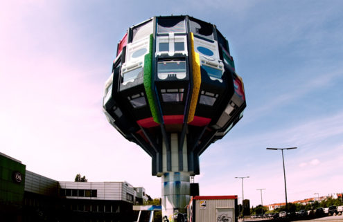 Berlin's 'Sci-fi Brutalist' Bierpinsel tower hits the market for €3.2m