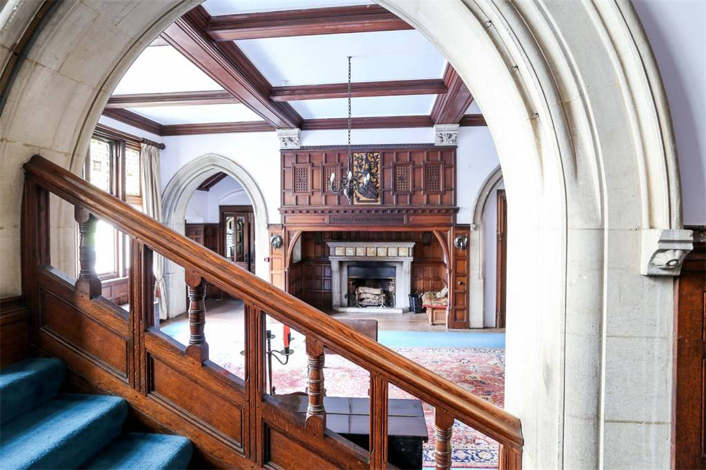 Gothic Houses On The Market Right Now Country Home By Alfred Waterhouse