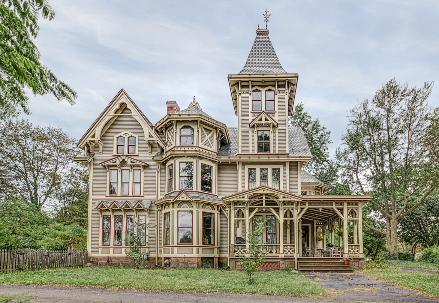 Chetstone House In New Haven Connecticut
