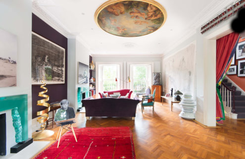 Hotelier Vanessa Branson's art-filled London home is up for rent