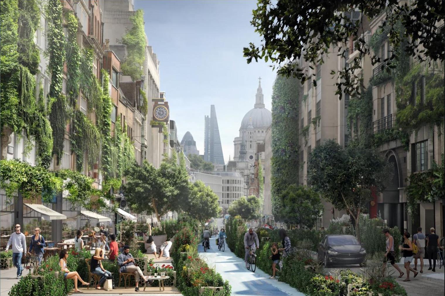 Watg Studio Plans To Coat London In Greenery