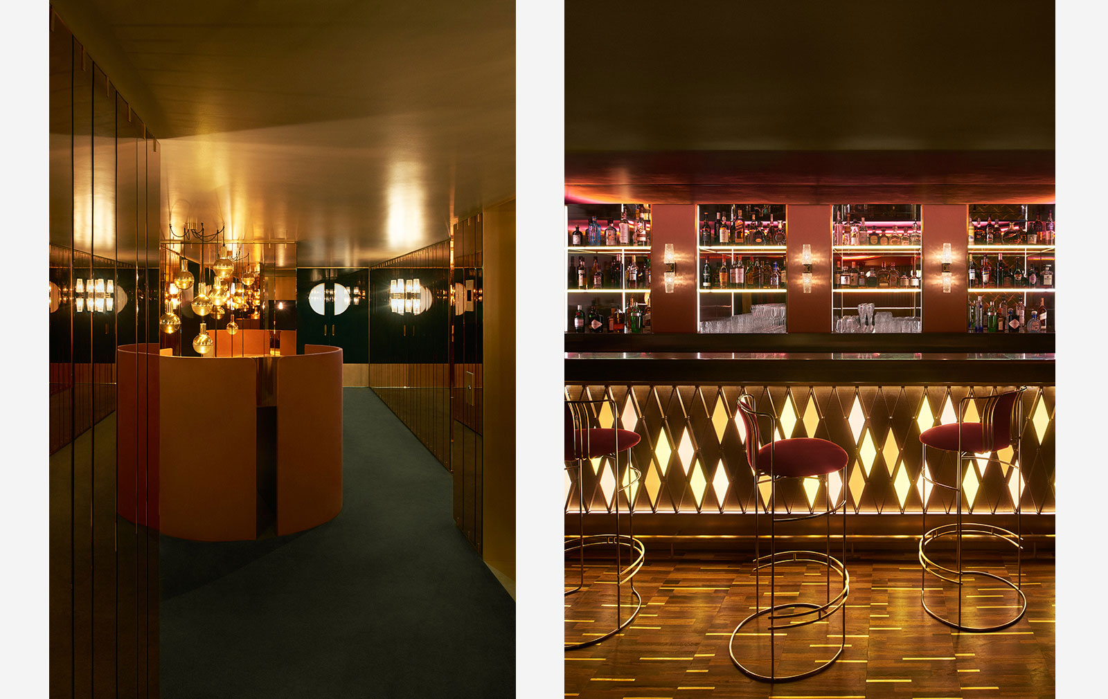 Leo's supperclub at The Arts Club in London, designed by Dimore Studio
