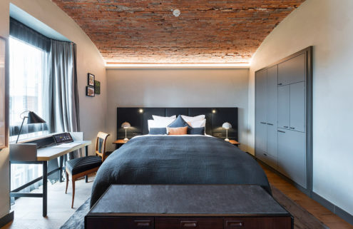 Former prison is reborn as a hotel in Offenburg, Germany