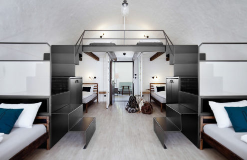 A 17th-century fortress is reborn as a design hostel in the Czech Republic