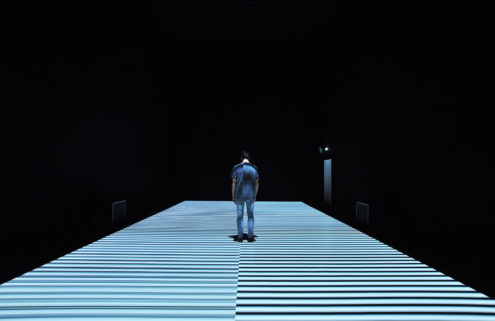 Ryoji Ikeda and Anish Kapoor animate Store Studios at London's 180 The Strand