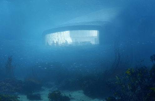 Europe is getting its first underwater restaurant