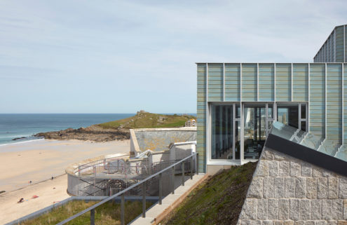 Inside Tate St Ives' new gallery space embedded in a cliff