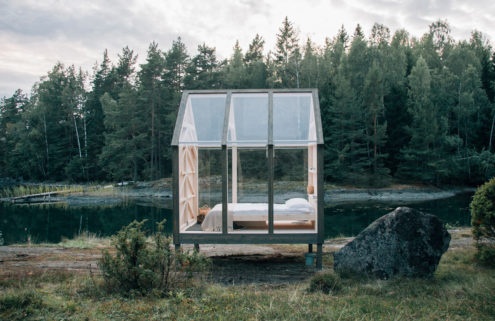 These Swedish holiday cabins can reduce stress by 70%