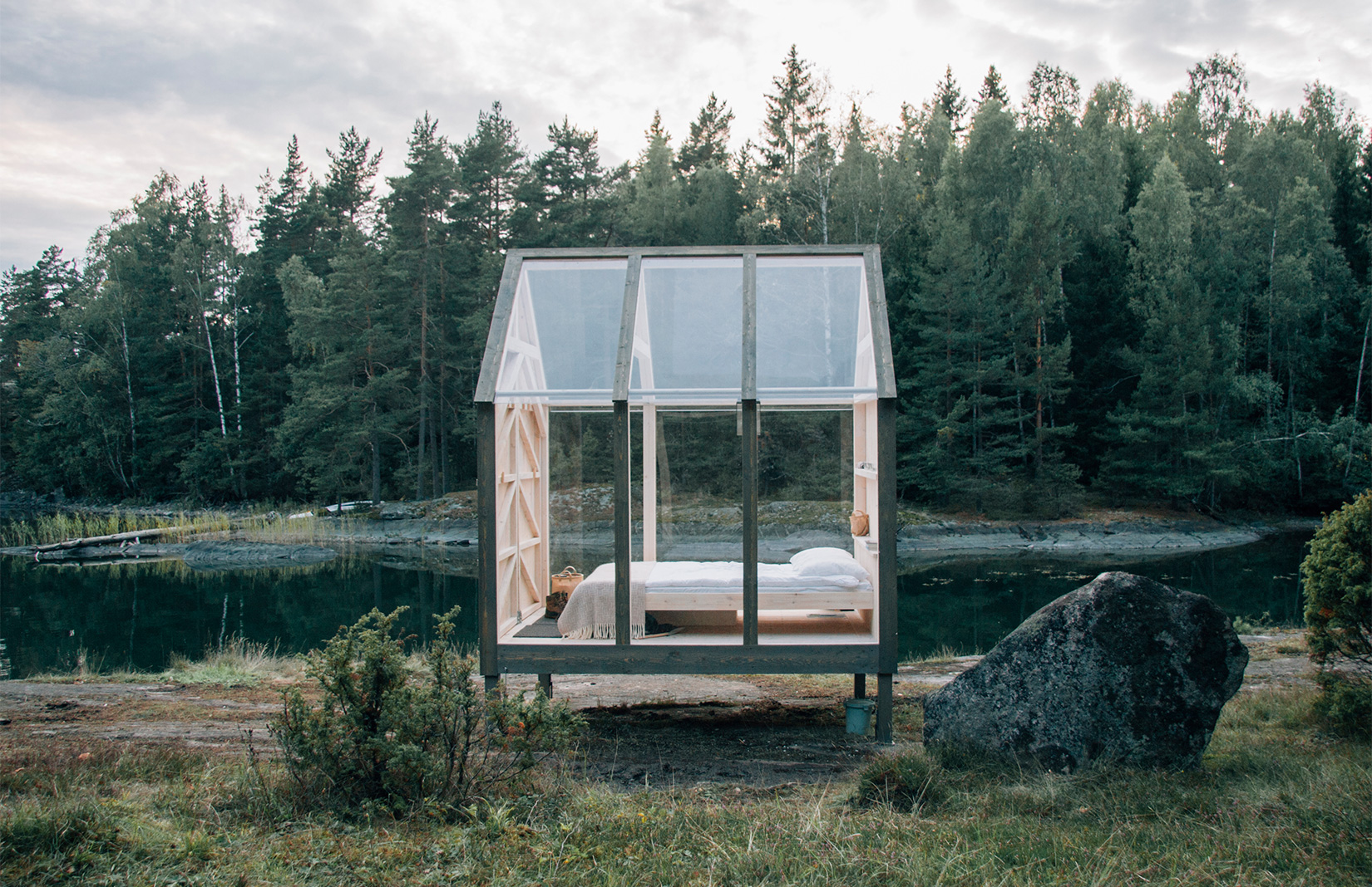 72-hour cabin