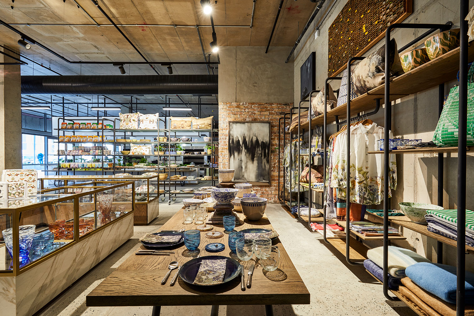 The Yard store and restaurant in Cape Town's Silo District