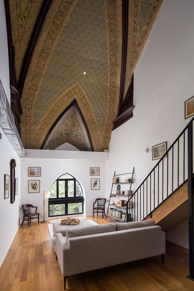 Converted church apartment asks for $3,925 per month in