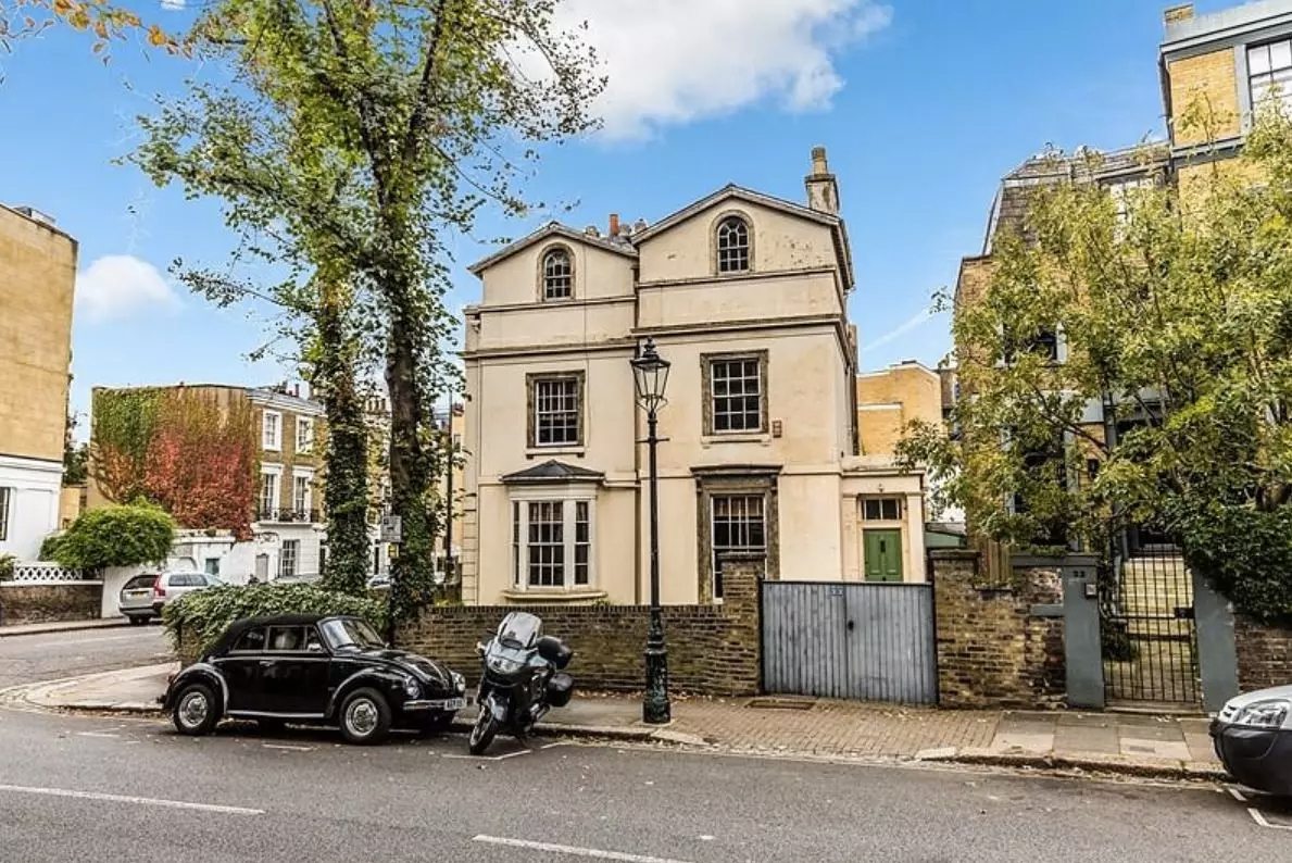 Alan Bennett's house is for sale in London