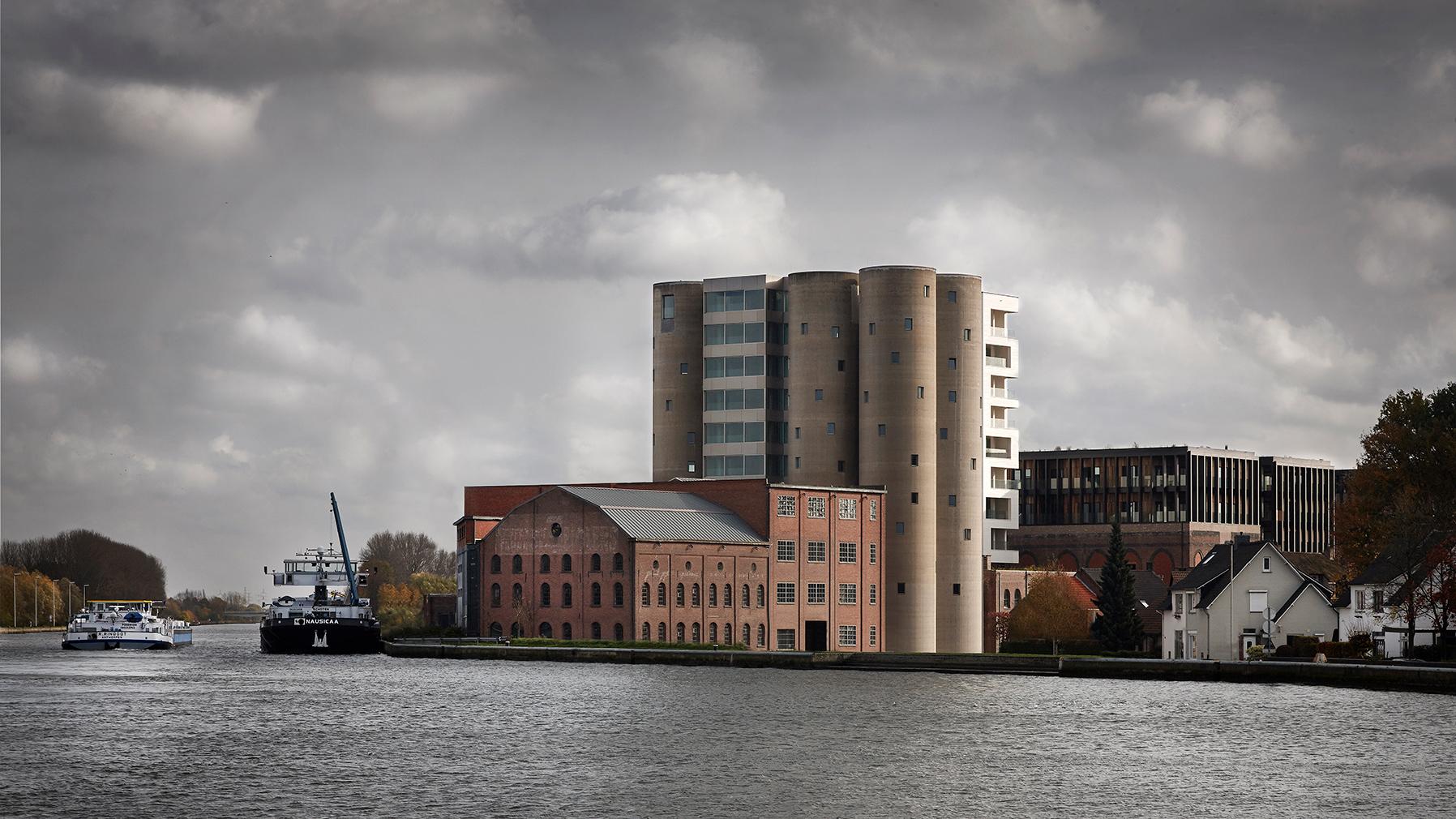 Axel Vervoodt's Kanaal complex in Antwerp