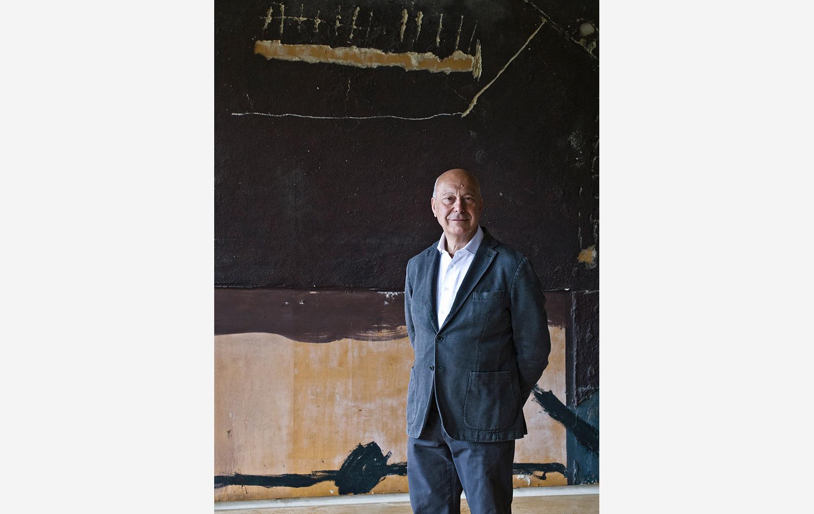 Axel Vervoordt, whose Kanaal project in Antwerp has completed