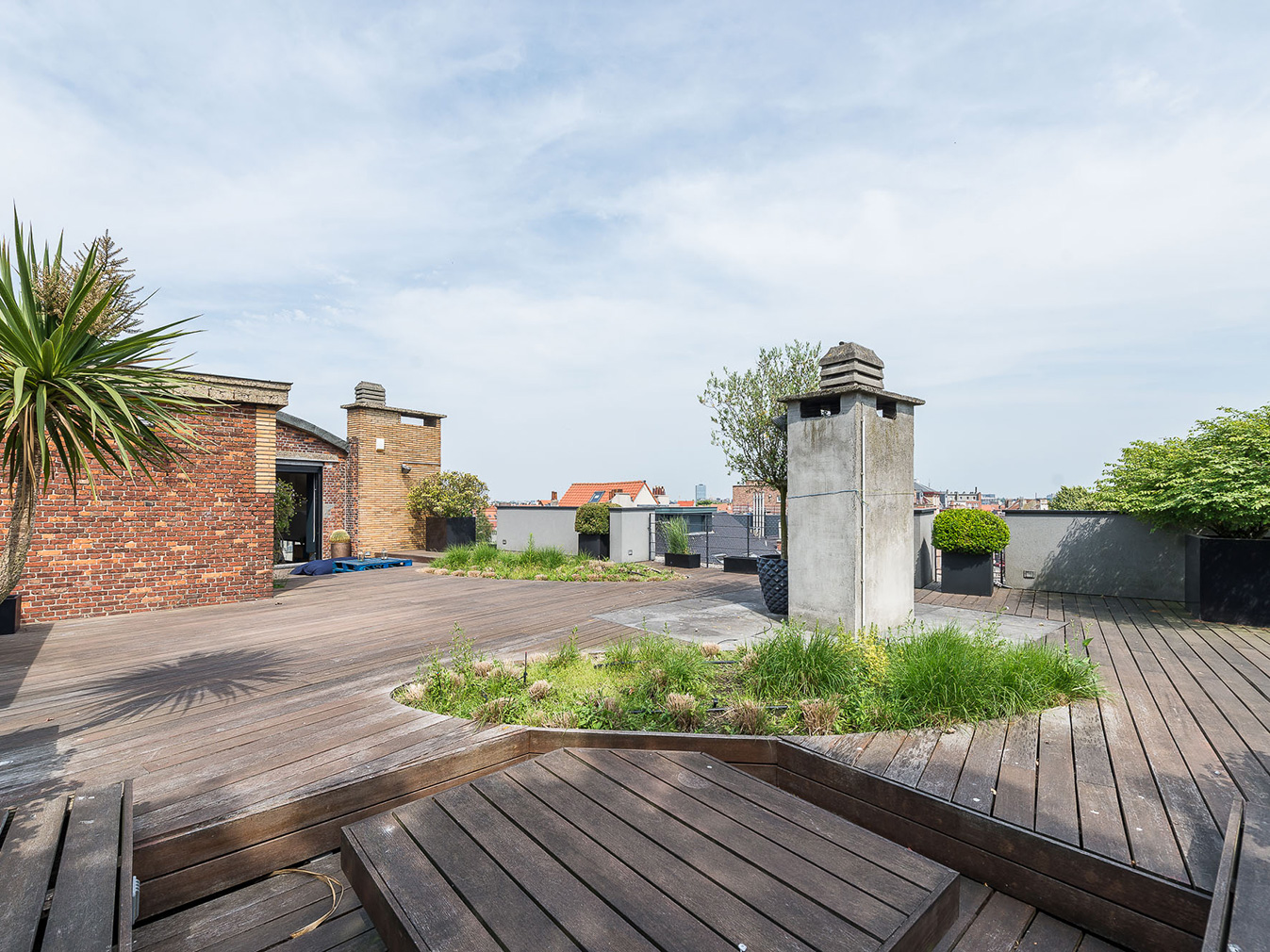 Art Deco factory penthouse for sale in Brussels