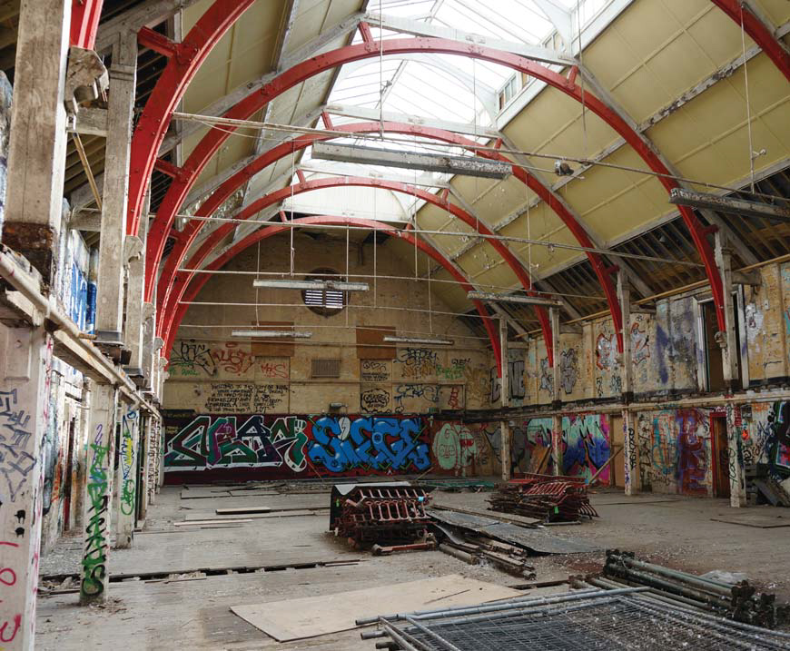Derelict victorian swimming pool to be revived as a cinema in london for Imperial college london swimming pool