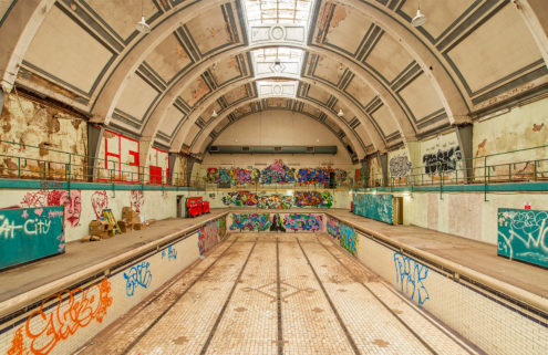 London's Haggerston Baths to be turned into a multi-use work and retail hub