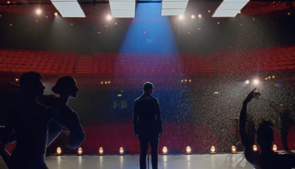 Sam Smith video One Last Song - filmed in London's Palladium theatre