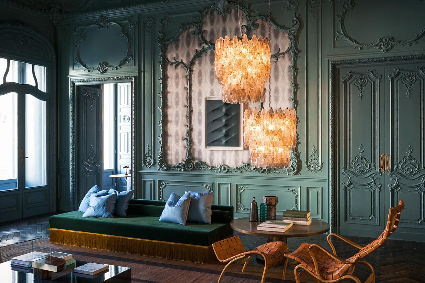 Palazzo Fendi's VIP apartment. Photography: Andrea Ferrari