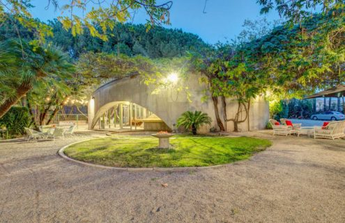 John Lautner's Tolstoy House hits the market in California