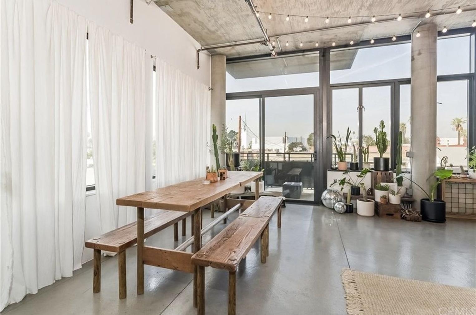 Long Beach loft in a former Masonic temple lists for $639k