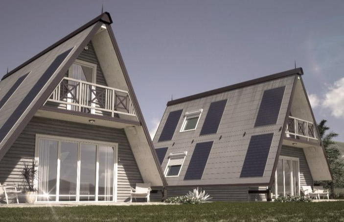 Folding Pre Fab House Can Be Built Anywhere In 6 Hours