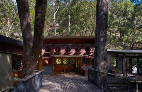 Property of the week: a bush home by Richard Leplastrier in New South Wales