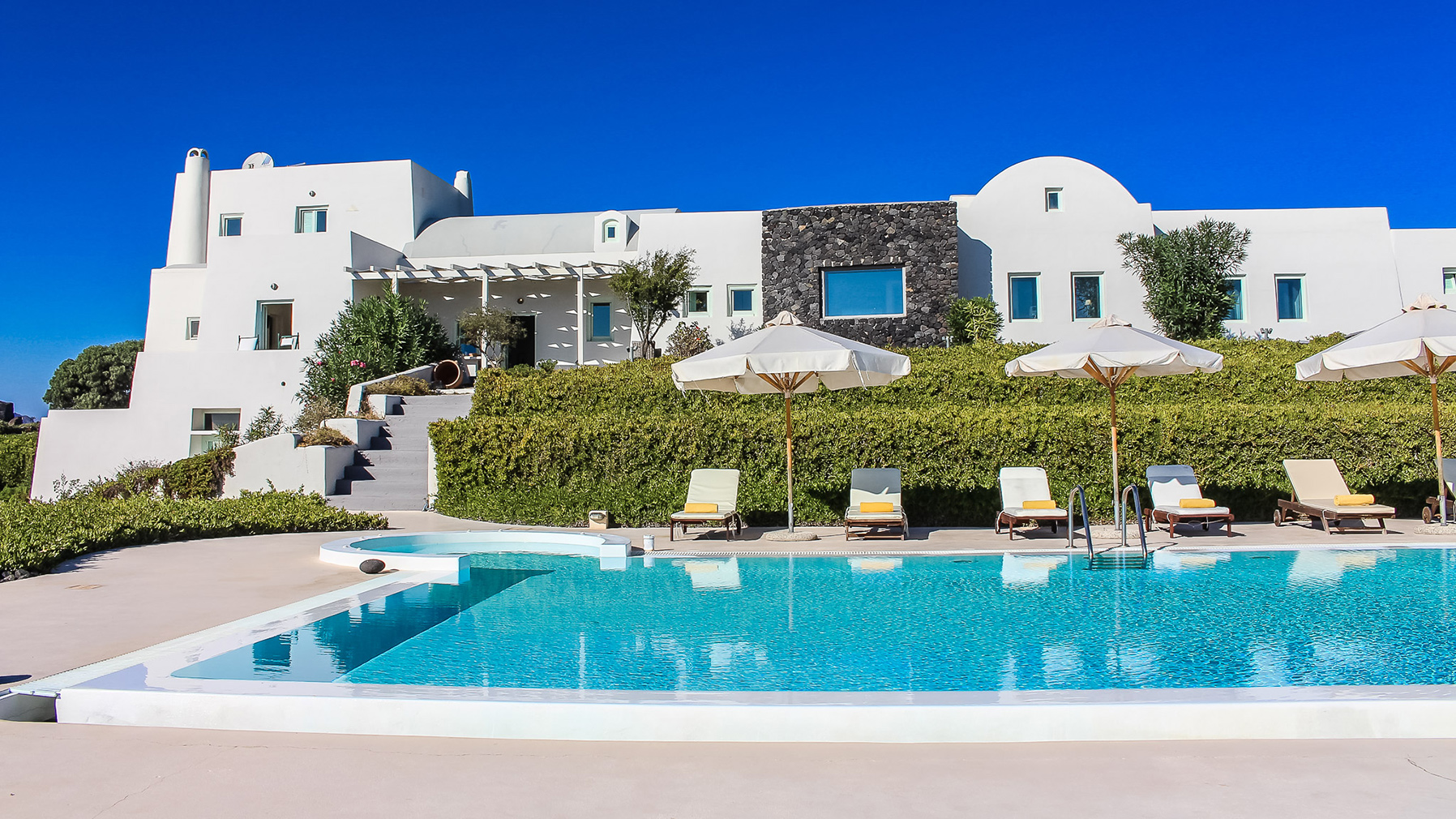 Santorini Black Rock Recording Studio and holiday villa