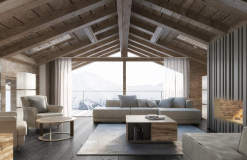 5 striking ski chalets for sale in Europe right now