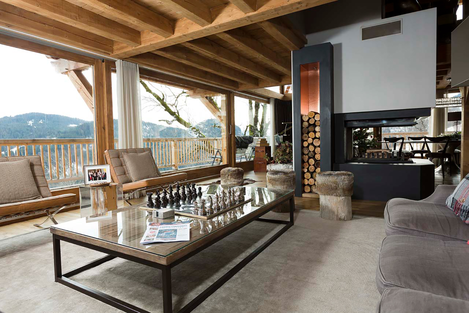8 striking ski chalets for sale in europe right now the spaces. Black Bedroom Furniture Sets. Home Design Ideas