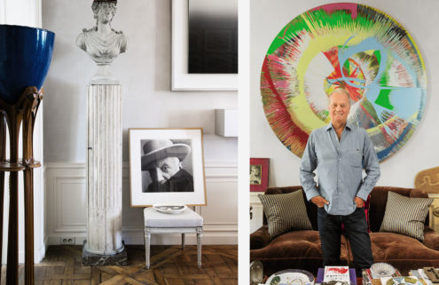 Jacques Grange's art collection is going under the hammer