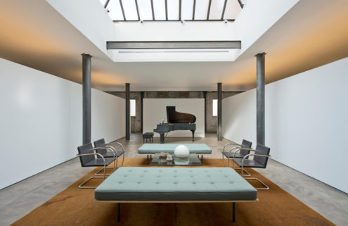 Minimalist concrete apartment lists for $11m in Manhattan